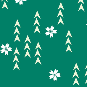 Green Sakura Forest