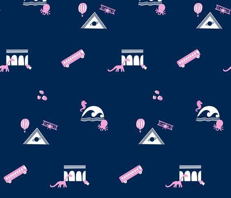 Field Trip!  © Spritely Design fabric by spritelydesign on Spoonflower - custom fabric