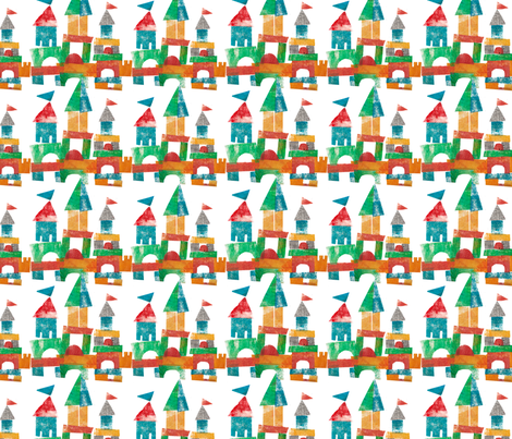 COOL_CASTLES fabric by mspikku on Spoonflower - custom fabric