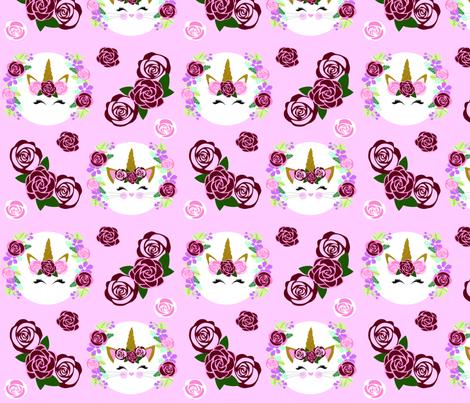 Unicorn & Unikitty fabric by myartbylynnette on Spoonflower - custom fabric