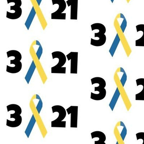 3 21 Down Syndrome Awareness