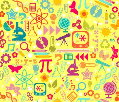 STEM Girls Rule - Yellow
