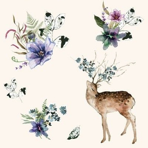 """8"""" Woodland Fairytale - Ivory"""
