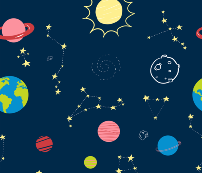 space-pattern fabric by mflordominguez on Spoonflower - custom fabric