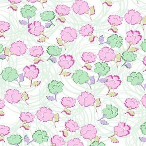 Dizzy Lizzy Floral in celadon