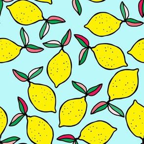 """8"""" Summer Lemons - Aqua"""