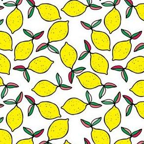 """4"""" Summer Lemons - White"""