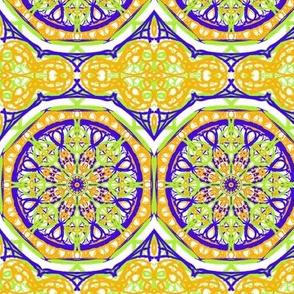Citrus and Sunshine Terrace Tiles