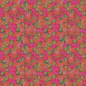 _2 Orange Pink Roses