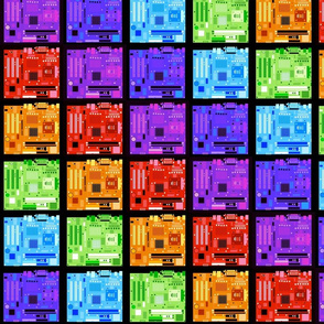 Motherboard Rainbow