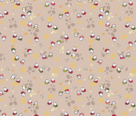 LOVEBUGS Playtime  fabric by creativeallure on Spoonflower - custom fabric