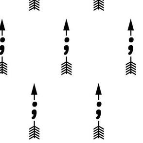 Semicolon Arrow