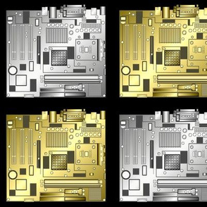 Metallic Motherboards