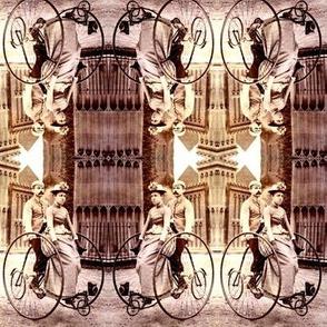 Victorian Tandem Bike