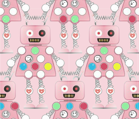 Girls will Rule the World fabric by floramoon on Spoonflower - custom fabric