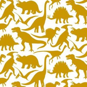 Little Dinosaur Friends - Mustard