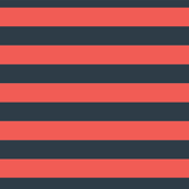 Red and black horizontal stripes. Coordinate. Geometric print.