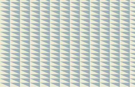 Dual Triangles M+M Slate Tan by Friztin fabric by friztin on Spoonflower - custom fabric
