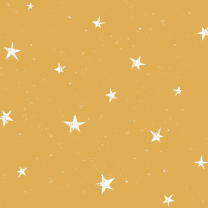 Stars in the yellow sky by unPATO