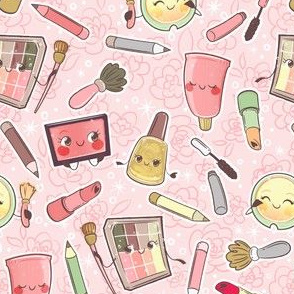 Make-up Pattern - Pink