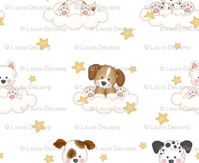 Puppy Cloud Star Nursery