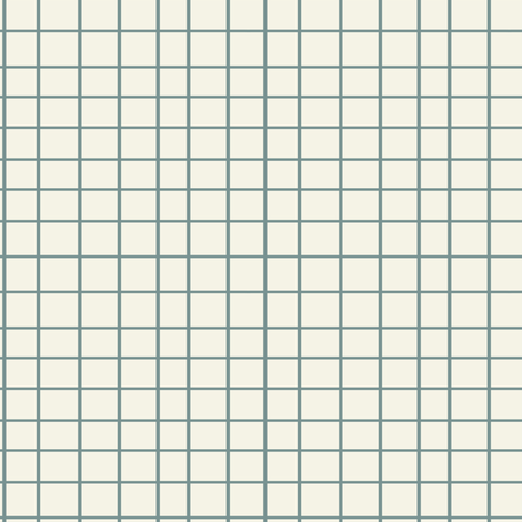 Elodie Grid Blue fabric by mintpeony on Spoonflower - custom fabric