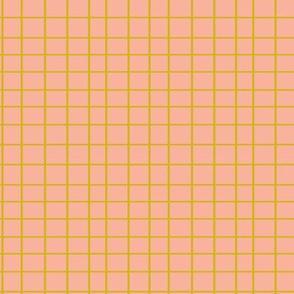 Elodie Grid Pink