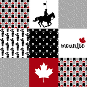 RCMP - Wholecloth Cheater Quilt