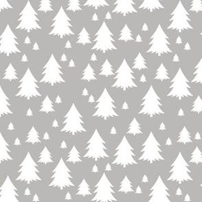 Trees on Grey