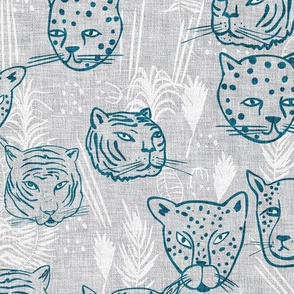 Paradisio  Big Cats (blue) MED
