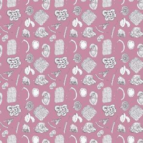 Mushrooms - Pink