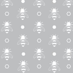 Solid Bee Grey