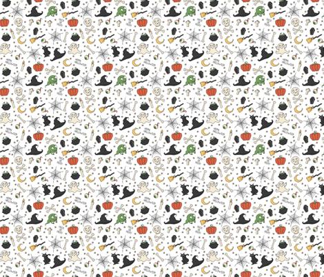 Halloween fabric by krolja on Spoonflower - custom fabric
