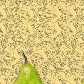 pears on yellowbirds