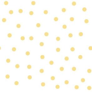 Love 2 Travel - Coordinate Dots yellow white