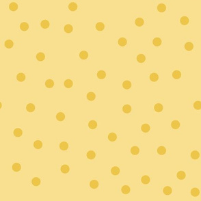 Love 2 Travel - coordinate dots yellow