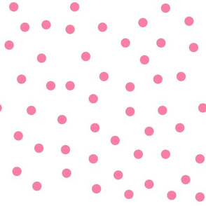 Love 2 Travel - coordinate dots pink white