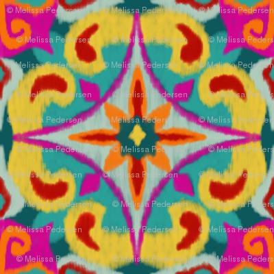 Colourful Ikat