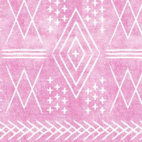 (med scale) vintage moroccan - hot pink