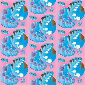 Spheres with Swirls