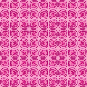 Pink with Magenta Swirl