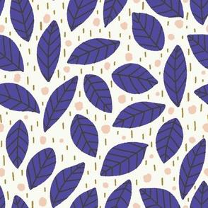 leaf party blue
