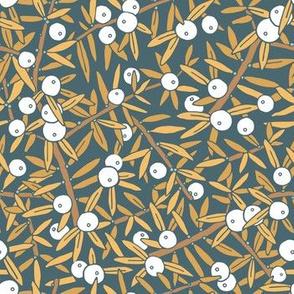 Juniper Berry - Yellow Ochre