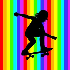 Skater Girl patch 4