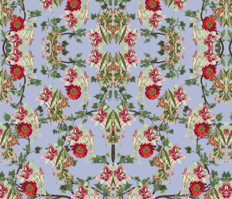 Flower Tripping fabric by zmarksthespot on Spoonflower - custom fabric