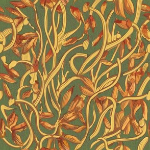 Banksia Heart (Floral Pattern)