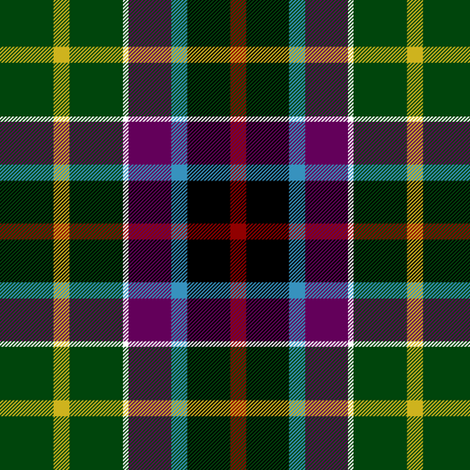 "Gallowater / Gala Water tartan - 1819 Wilsons, 6"" fabric by weavingmajor on Spoonflower - custom fabric"