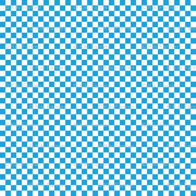 Oktoberfest Bavarian Blue and White Checkerboard