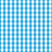 Oktoberfest Bavarian Blue and White Gingham Check