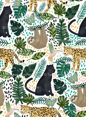 Emerald Rain Forest Animals